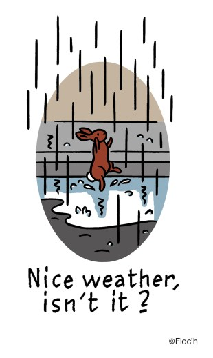 Nice Weather, isn't it?, image courtesy of Harbour City