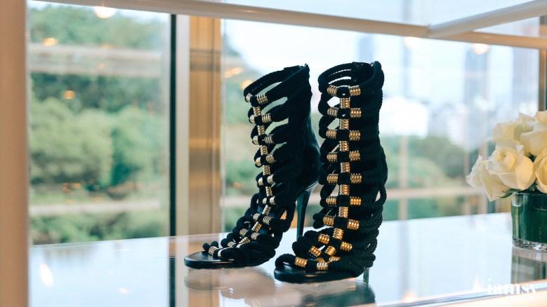 Black Sandalettes HK$1490