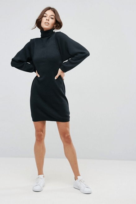 ASOS Knitted Dress With Full Sleeve £30 → £21