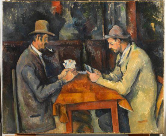 Paul Cézanne, The Card Players, ca.1892–1896.