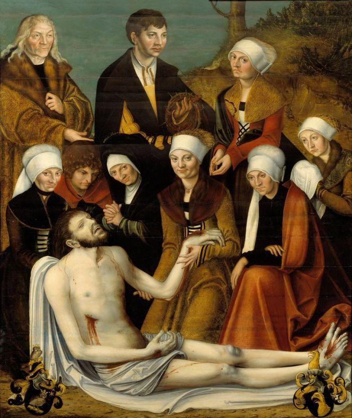 The Lamentation of Christ, c. 1538, Workshop Lucas Cranach the Elder