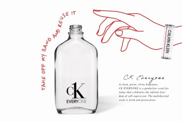 香水也來響應環保!別忘了把 Calvin Klein 香水瓶拿去回收