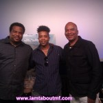 Chris Robinsion,Tabou TMF aka Undefinable One & David Allen Grier at Movie Premiere