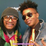 Maxi Priest & Tabou TMF aka Undefinable One at SiriusXM in New York City