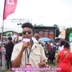 Tabou TMF on Undefinable Vision TV at The Grace Jamaican Jerk Festival in NYC