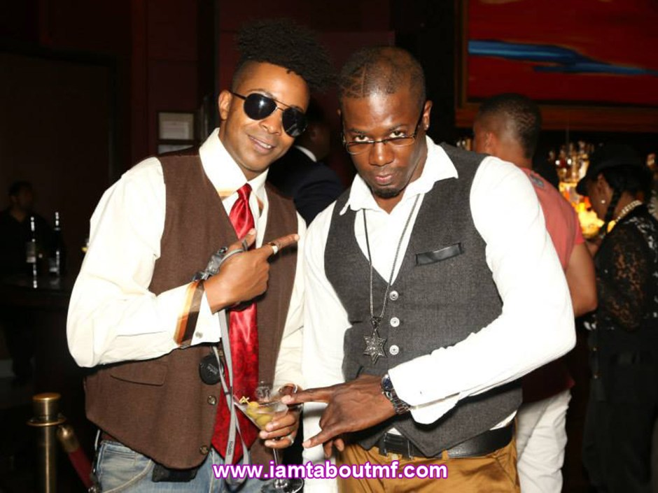 Tabou TMF aka Undefinable One and Beniton The Menace at Stone Rose Lounge NYC