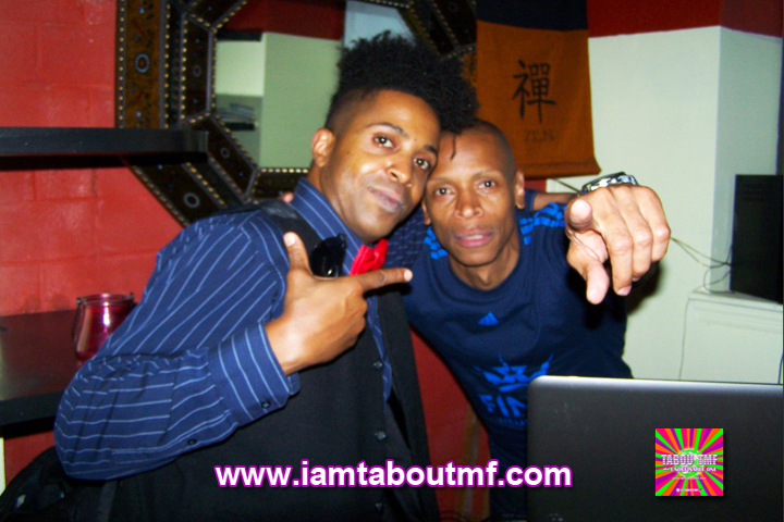 Tabou TMF aka Undefinable One & Ced Gee of The Ultramagnetic MC's