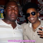 Chris & Tabou TMF aka Undefinable One chilling before performance in Brooklyn, NY