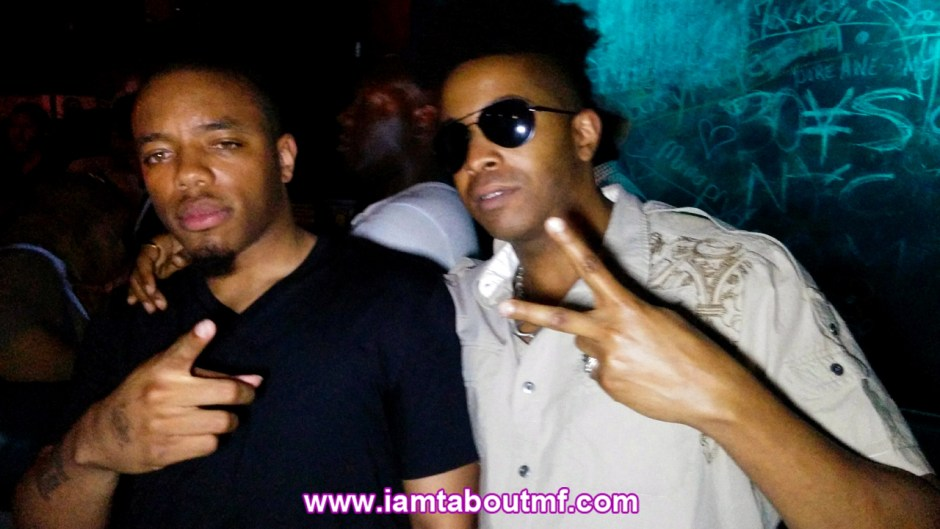 Marc B & Tabou TMF aka Undefinable One after performances in Brooklyn