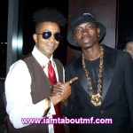 Tabou TMF aka Undefinable One & Micheal Blackson at Chibase Productions Launch
