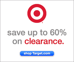 Save Up To 60% on clearance at Target