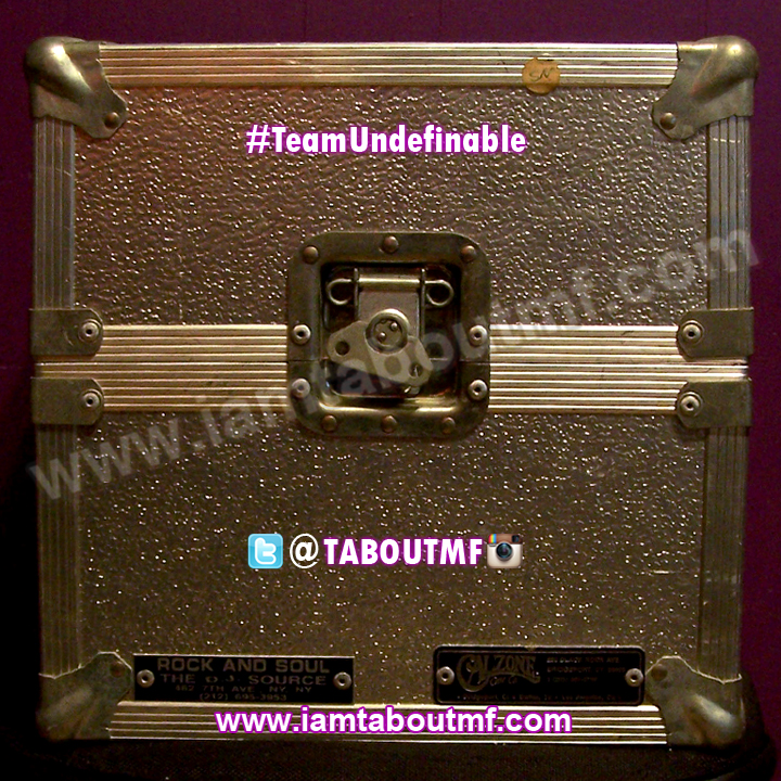 Tabou TMF aka Undefinable One's One of a kind Custom Calzone Case