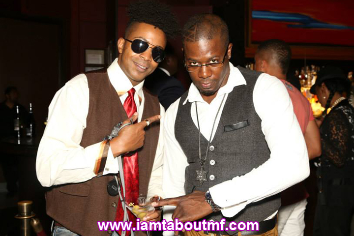 Tabou TMF aka Undefinable One & Beniton The Menace @ Chibase Productions Launch at Stone Rose Lounge
