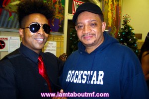 Tabou TMF aka Undefinable One & Kool DJ Red Alert at The Rising Star Awards