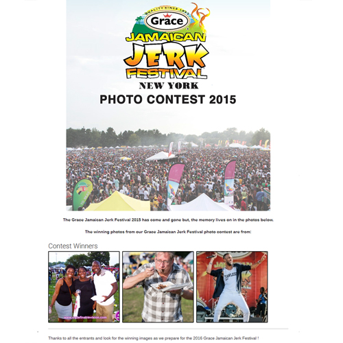 Tabou TMF of Undefinable Vision wins 1st Place for his photo taken at The 2015 Grace Jamaican Jerk Festival New York