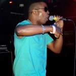 Tabou TMF aka Undefinable One performing on stage at Blackthorn 51 in Queens NY