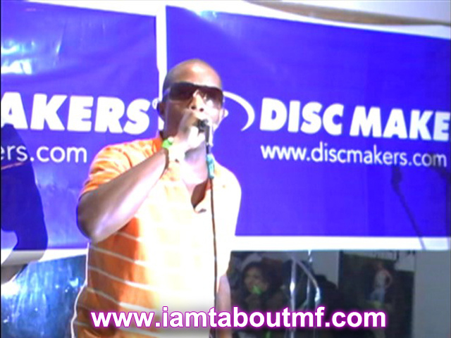 Tabou TMF aka Undefinable One performing at Lafayette Grill