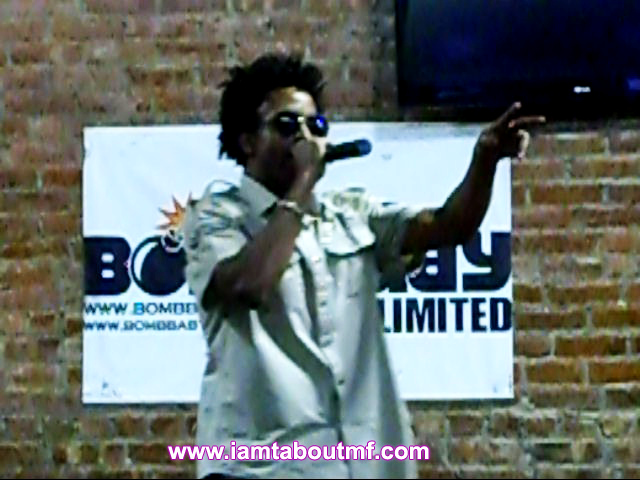 Tabou TMF aka Undefinable One Performing at Harlem Lanes