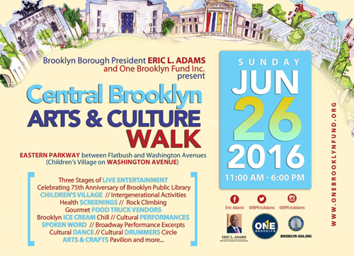 Central Brooklyn Arts and Culture Walk 2016