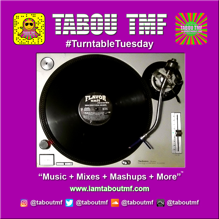 Tabou TMF Turntable Tuesday Selection Hey Mr. D.J. by Zhane (Maurice's Club Mix)