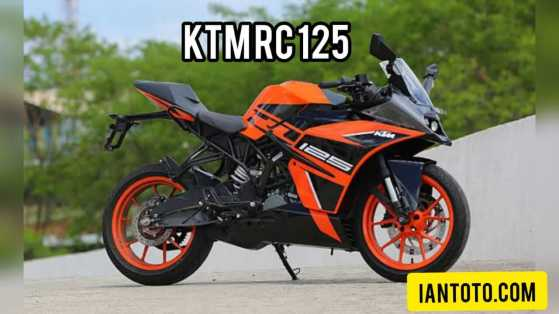 KTM RC 125 European Edition- iamtoto.com