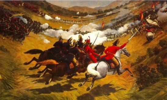 Martín Tovar y Tovar, Batalla de Carabobo. Detalle. Salón Elíptico del Palacio Federal Legislativo.