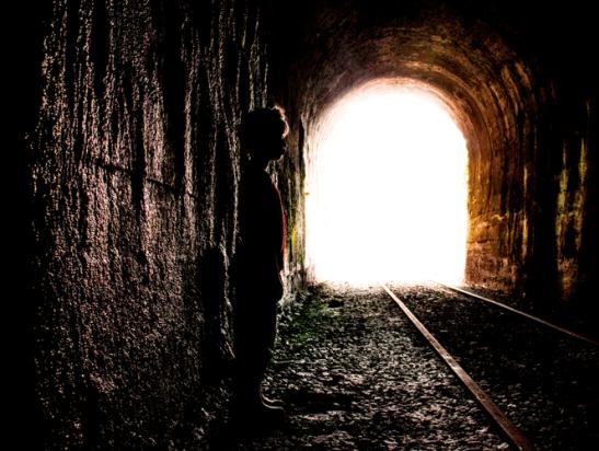 Interior túnel 10. Foto Nohely Ron.