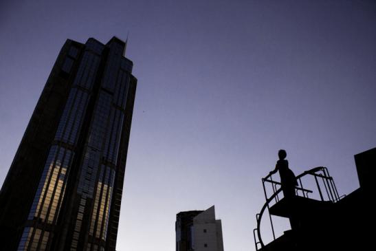 Vista de la Torre Este de Parque Central desde el Centro Cultural Teresa Carreño. Foto Nohely Ron.