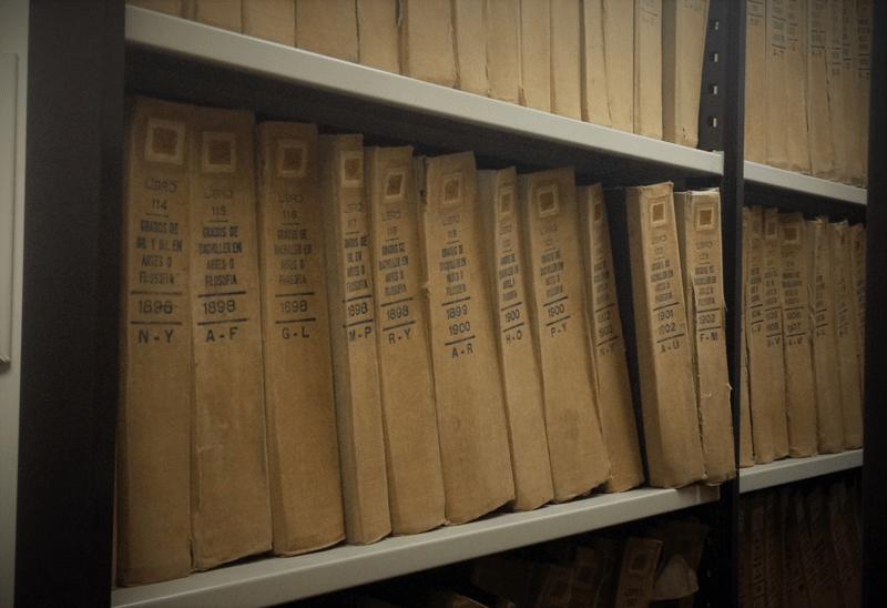 Archivo Histórico UCV. Foto Mayerling Zapata López.