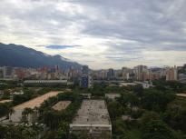 Vista de la UCV desde el Archivo. Foto Mayerling Zapata López.