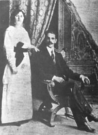 Rómulo Gallegos y Teotiste. Wikimedia Commons