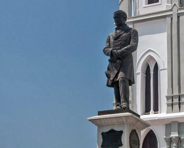 Plaza Baralt de Maracaibo, Zulia, patrimonio cultural de Venezuela.