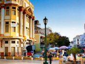 Plaza Baralt tras la rehablitación por el CRU en el año 2015. Foto en Pinterest