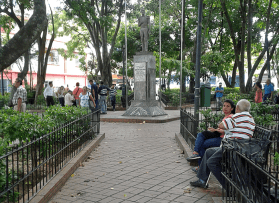 Plaza Bolívar. Foto: Alejandra Suárez.