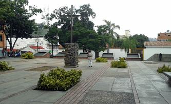Plaza El Cristo. Foto: Alejandra Suárez.
