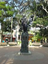 Plaza Bolívar de El Hatillo. Foto: Alejandra Suárez.