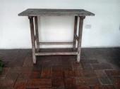 Mesa popular venezolana de finales del XVIII. Foto Mildred Maury.
