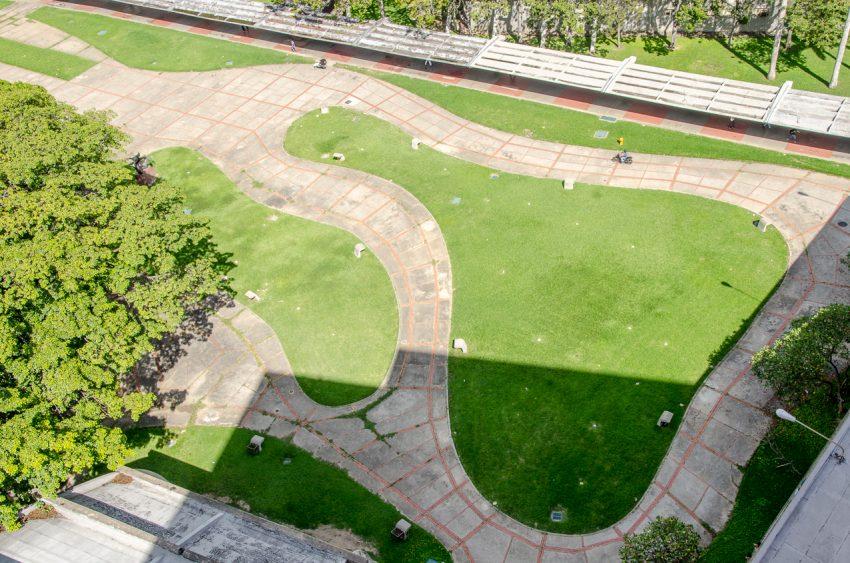 UCV: Vistas desde la Terraza del edificio Biblioteca Central