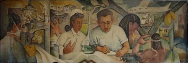 Eulalio Toledo Tovar. Instituto Celis Pérez, Valencia. 1957.