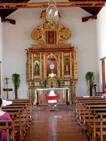 Retablo de la iglesia de San Clemente. Foto Juan Carlo Castillo Ortega CC BY-SA 3.0 Wikimedia Commons