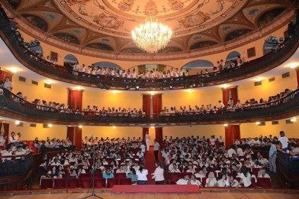 El teatro se ha reinaugurado en numerosas ocasiones.