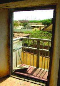 Vista desde el balcón