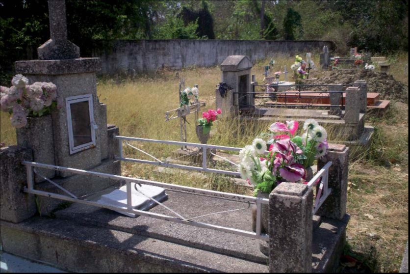 Cementerio del caserío Sucre