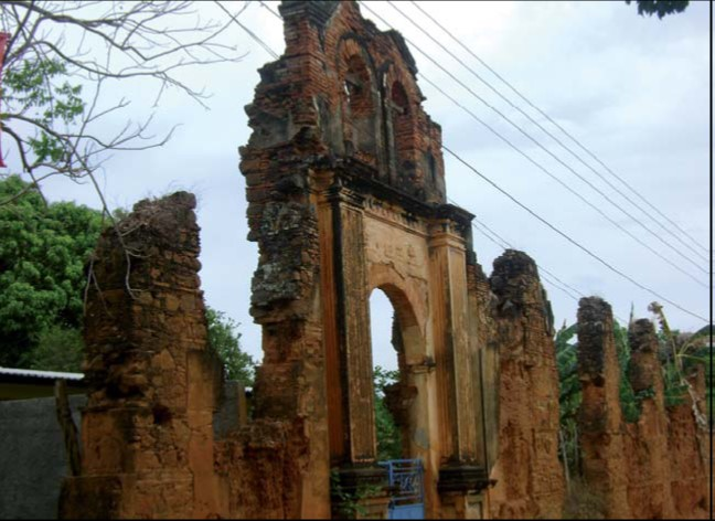 Ruinas del beaterio de Las Carmelitas