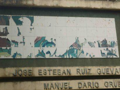 Solo quedan los nombres de los poetas. Foto Marinela Araque R.