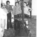 El poeta Rafael Pineda, líder de la Sociedad de Amigos de Guayana, que impulsara la conversión de la casona en el Museo de Ciudad Bolívar.