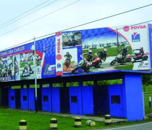 Gloria del motociclismo nacional.