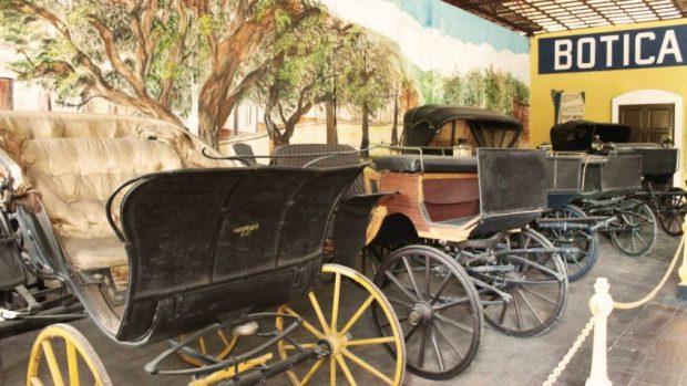 Museo del Transporte de Caracas. Patrimonio cultural de Venezuela.