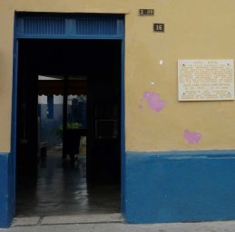 """""""Donde la luz venía a la penumbra"""", decía de su casa José León Tapia. Foto Marinela Araque R."""