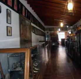 Corredor del Centro de Historia del estado Trujillo.